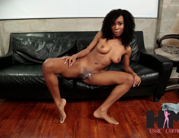 Hussie auditions sexy ebony cecilia lion039s first creampie - 2 part 5